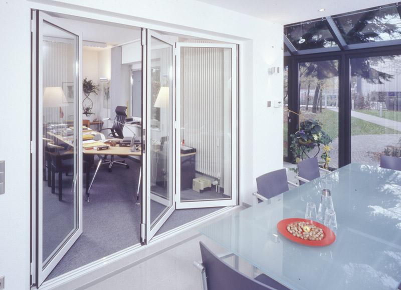 schiebe und faltt ren buhmann metallbau. Black Bedroom Furniture Sets. Home Design Ideas